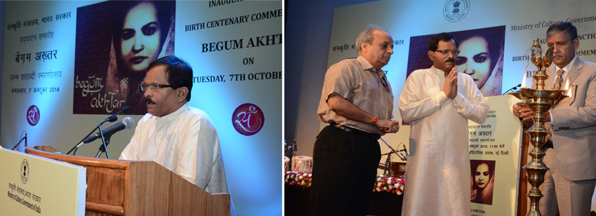 Inauguration of Begum Akhtar centenary commemoration