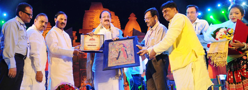 The Union Minister , Shri M. Venkaiah Naidu at the Rashtriya Sanskriti Mahotsav-2016, organised by t...