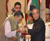 Gandhi Peace prize for the year 2013 To Shri Chandi Prasad Bhatt 7