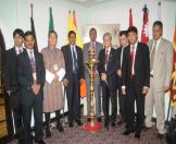 Senior Officers of SAARC countries at the 3rd SAARC Cultural Ministers Meeting