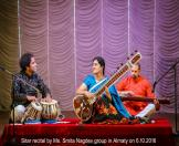 7-Sitar recital by Ms. Smita Nagdev group in Almaty on 6.10.2016