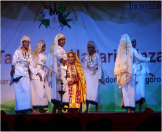 A performance by Kerala folk dance at Indian Cultural Centre during the festival of India