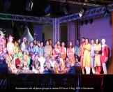 Ambassador with all dance groups at Jamaa El Fna in Marrakech