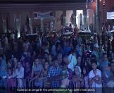 Audience at Jamaa El Fna performance in Marrakech