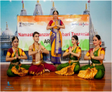 Bharatnatyam Performance at Arusha during the Festival of India in Tanzania