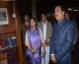 Culture Minister visited NAI museum-08