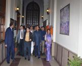 Culture Minister visited NAI museum-10