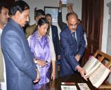 Culture Minister visited NAI museum-12