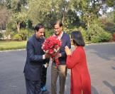 Culture Minister visited NMML museum-01