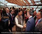 Hon'ble MOS for Culture and Tourism (IC), Dr. Mahesh Sharma at Gala Event Reception