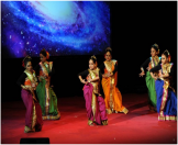 Hritaal Dance Troupe gave a mesmerizing performance