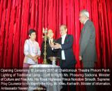 Opening Ceremony 10 January 2017 at Chaktomouk Theatre Phnom Penh