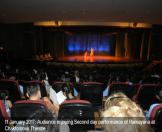 11 January 2017 : Audience enjoying Second day performance of Ramayana at   Chaktomouk Theatre.