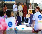 Minister along with MOS Takacs inaugurates International Day of Yoga in Budapest on June 19