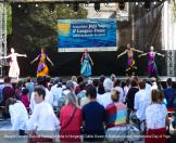 Oddisi Dance in Budapest during International Day of Yoga