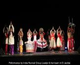 Performance by India Revival Group Leader and her team in El-Jedida