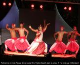 Performance by India Revival Group leader and team at Marrakech