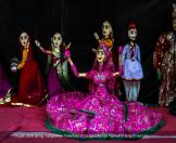 Puppet show during inauguration ceremony of Ganga Danube Festival