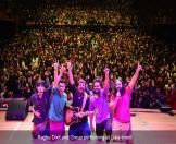 Raghu Dixit and Group performing at Gala event