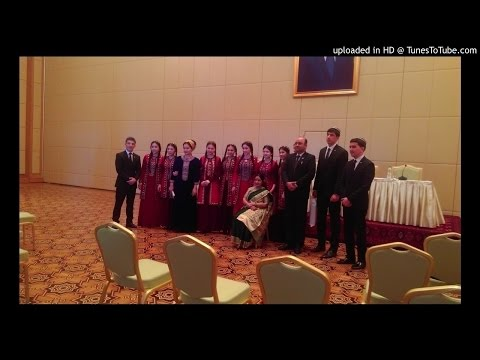Delegation of Turkmeni Students song 2