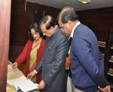 Culture Minister visited NMML museum-09